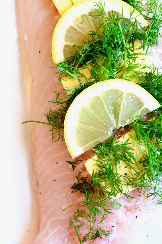 Grillet torsk med hyldeblomst 2