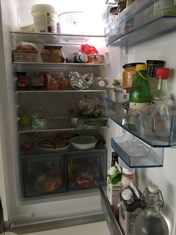Vis dit køleskab - Christine og Laura fra Twin-food 2