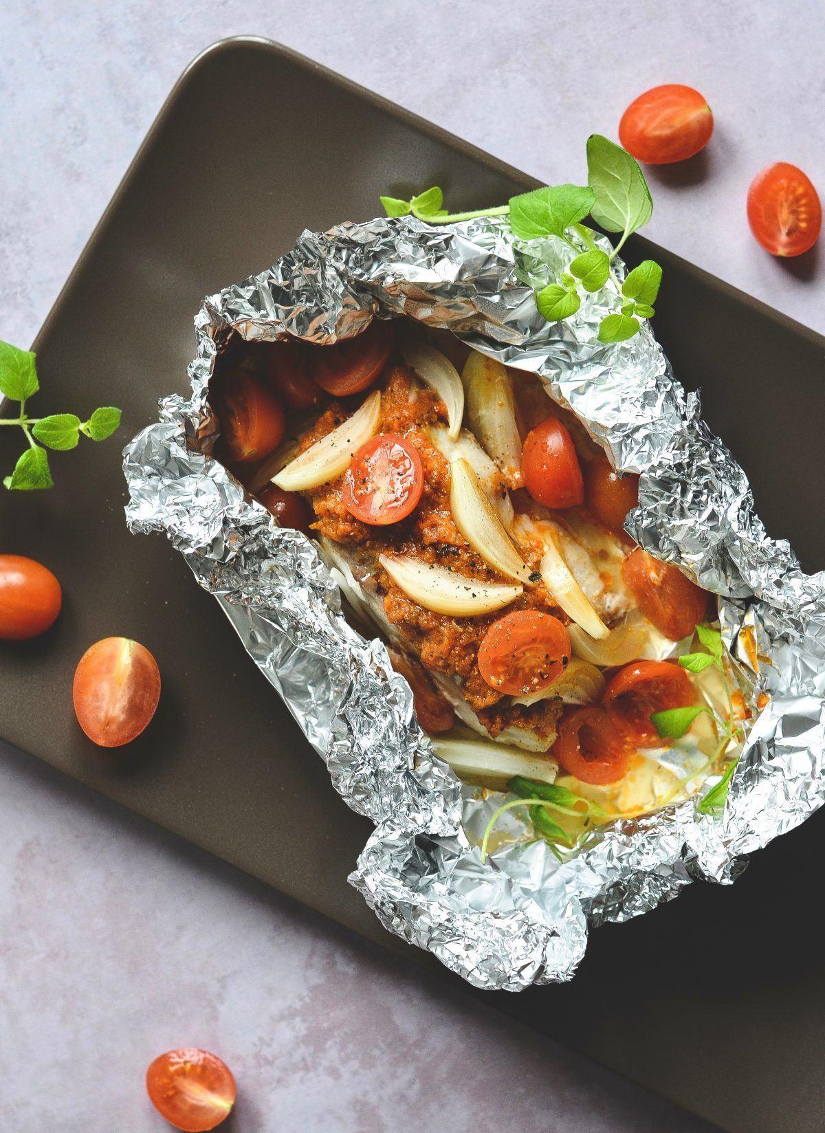 Fiskepakker i ovn