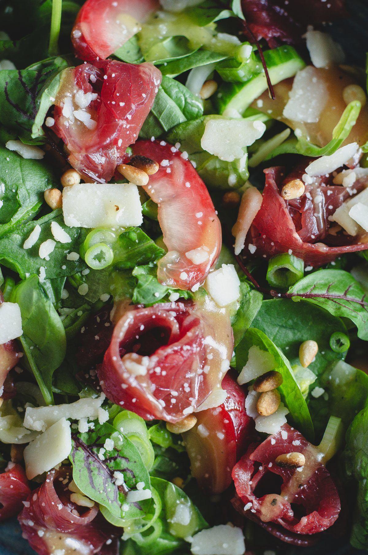 Carpaccio salat