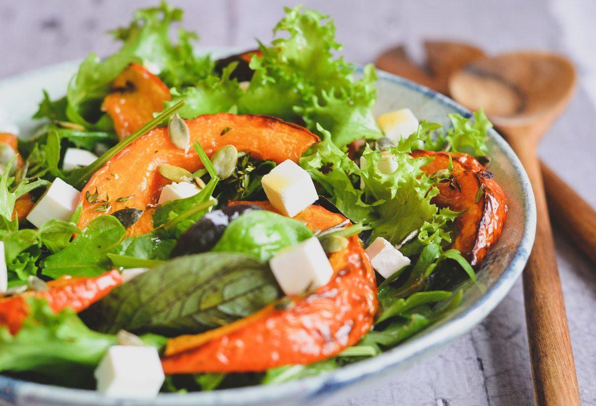 Hokkaido salat med timian