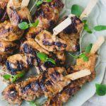 græske kyllingespyd