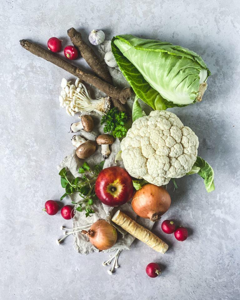 Frugt og grøntsager i sæson - Din store råvareguide - forårsråvarer