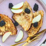 Veganske pandekager - uden æg, mælk og smør 5