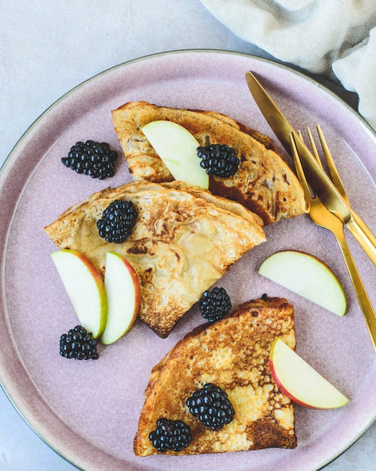 Veganske pandekager - uden æg, mælk og smør